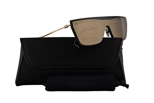 Used, Valentino VA 4016 Sunglasses Black w/Light Gold Mirror for sale  Delivered anywhere in USA