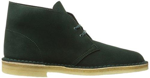 Clarks - Botas para hombre marrón marrón Verde oscuro