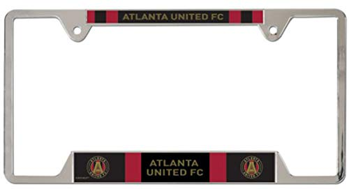 United License Plate - WinCraft MLS Atlanta United FC Metal License Plate Frame