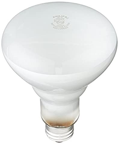Philips 248872 Soft White 65-Watt BR30 Indoor Flood Light Bulb, 4 12-Packs (48 Bulbs) - Philips Reflector