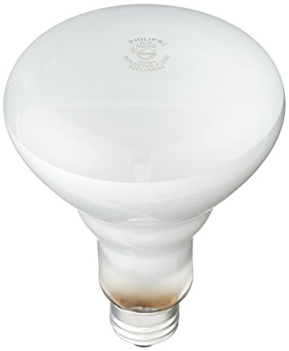 Philips 248872 Soft White 65-Watt BR30 Indoor Flood Light Bulb, 2 12-Packs (24 Bulbs)