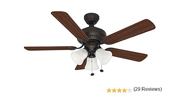 Ceiling Fan hunter ceiling fan light blinking : Litex E-BLR44ABZ5C Balmoral  Collection 44- - Ceiling Fan » Hunter Ceiling Fan Light Blinking - Ceiling Fans