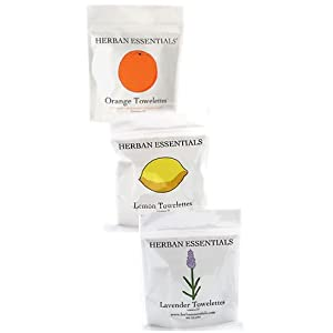Herban Essentials Cleansing Towelettes 37