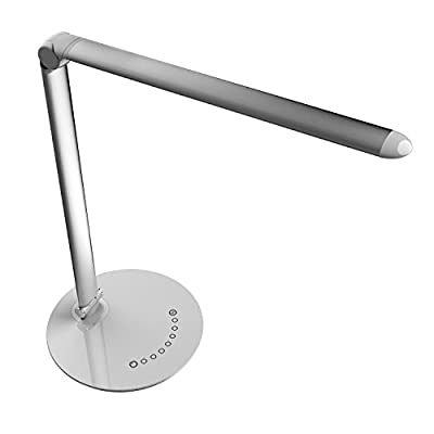 LED Desk Lamp Eye-caring Table Lamps,Led Desk Lamp with USB Charging Port,Anti-Glare Touch Control desk lamp ,Eye- care Dimmable Lamp, 7 Color Modes & 7 Brightness,Memory Function,Touch Control …
