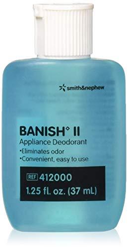 Smith & Nephew Banish II Liquid Deodorant, 412000-1.25 Oz refillable bottle