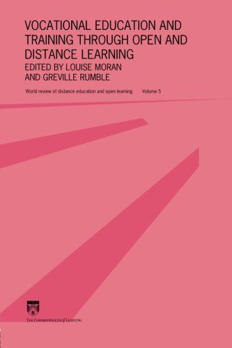 Vocational Education and Training through Open and Distance Learning: World review of distance education and open learning Volume 5