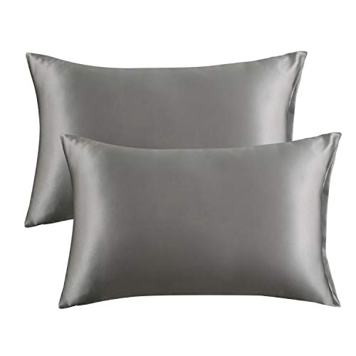 Amazon Com Bedsure Satin Pillowcase For Hair And Skin 2