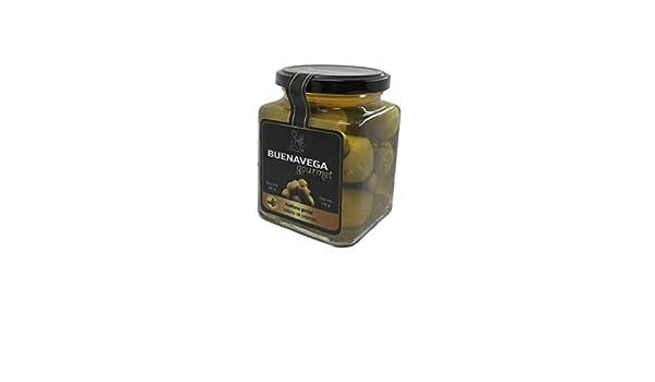 Aceituna gordal rellena de pepinillo: Amazon.es: Alimentación y ...