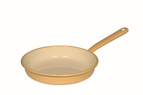 RIESS Omelettpfanne, Spiegeleipfanne, Ø 22 cm, goldgelb