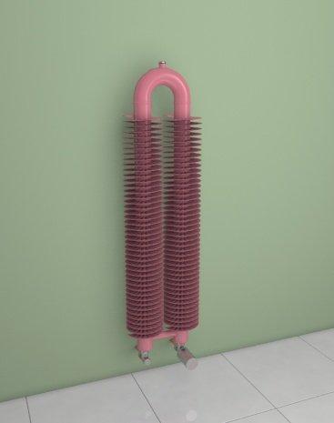 Retro Ho – Radiador – Tubo de plumas – Kit de grifo incluye – diseño Retro