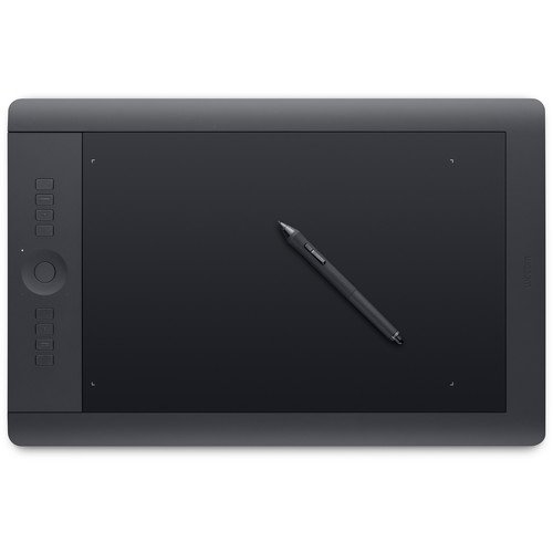 Wacom Intuos Pro Pen and Touch Large Tablet (PTH851) (Certified Refurbished) (Intuos Pen And Touch Wireless)