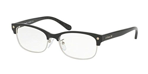 Eyeglasses Coach HC 6098 5431 BLACK SILVER/BLACK GUN SIG - Coach Sunglasses Prescription