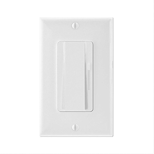 Preset Dimmer, LTMATE 0-10V volt low-voltage lighting control provides dimming control for 0-10 volt compatible LED flat panel light, LED troffer, LED vapor tight, LED high bay, linear high bay, UFO (10v Dimmer)