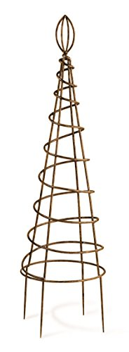 Deer Park TO103 Small Spiral Topiary - Trellis Topiary
