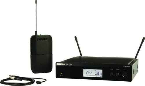 UPC 042406252799, Shure BLX14R/W93 Wireless Presenter Rack Mount System with WL93 Lavalier Microphone, H8