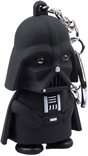 Little prince Star Wars Keychain Darth Vader with LED Flashlight and Sound