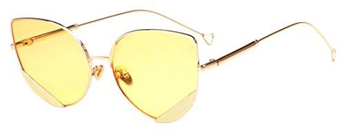 de Eyewear soleil de Cat Marée Mode Color5 anti Polaroid JYR ultraviolet Lunettes Femmes Eye Lunettes HD soleil wxZqCz1Bz