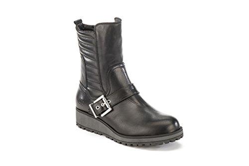 Damen Boots Damen Stiefelleten LUNA marke farbe LUMBERJACK Schwarz Schwarz Schwarz modell Stiefelleten Boots LUMBERJACK 6zqFU5