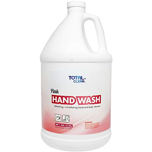 Total Clean TC-HS400 Pink Hand Wash (1 gal) - 4 Ct by Total Clean