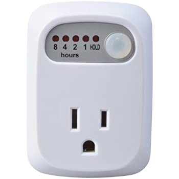 Woods 50030WD Indoor 8-Hour Countdown Plug-In Timer, 1 Grounded Outlet