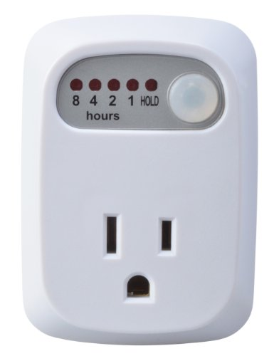 Electric Countdown Timer (Woods 8-Hour Countdown Plug-In Timer For Indoors, 1 Grounded Outlet)
