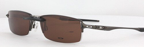 baa5a7796ad Amazon.com  OAKLEY HALFSHOCK-OX3119-55X19 CLIP-ON (Frame NOT Included)   Health   Personal Care