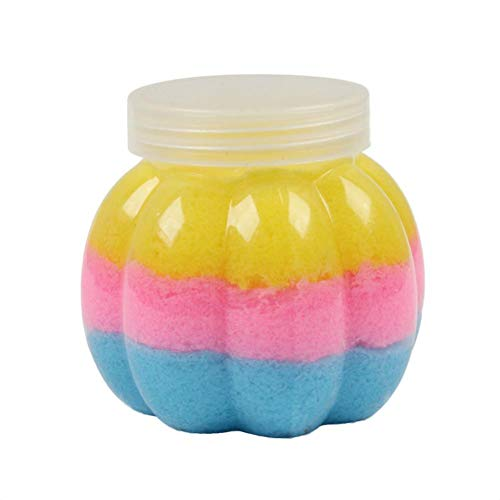 Xmas Gift Slime Toy - 50g Fairy Floss Cloud Slime Reduced Pressure Mud Stress Relief Kids Clay Toy (B) -