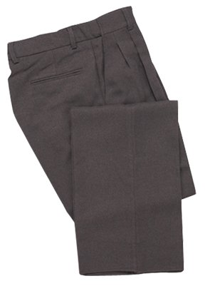 Adams USA Smitty Expanded Waist Pleated Baseball Umpire Plate Pants (Charcoal Gray, 34-Inch)