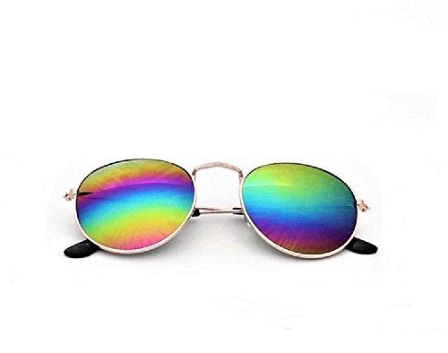 Vintage Sunglasses Mirror Eyewear (Mirror, Amazing - Sunglasses Rainbow Mirror