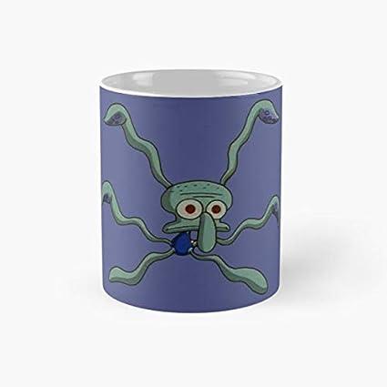 Amazoncom Gocontigo Squidwards Dance Spongebob Mug 11 Oz