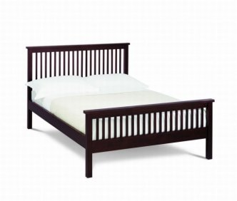 Bentley Designs Atlantis Dark Wood Bed Frame 3ft Single Bed Frame