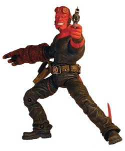 Hellboy Figure Stealth Outfit (Superheroes Outfit)