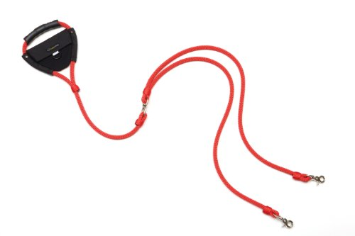 Fozzy Dog Double Dog Leash, Red, My Pet Supplies