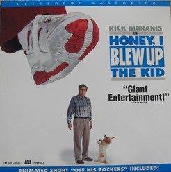 Amazon.com: Honey I Blew Up The Kid LASERDISC (Not A DVD ...