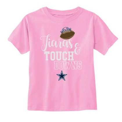 28ed0599010 Amazon.com : Dallas Cowboys Toddler Tamara Short Sleeve Tee : Sports ...