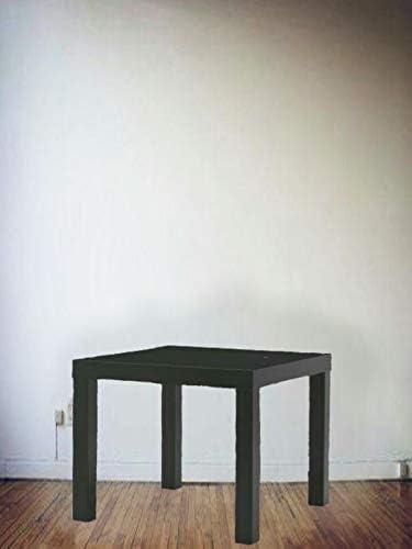 Abaseen Lack - Mesa de café (tamaño pequeño), Color Negro ...