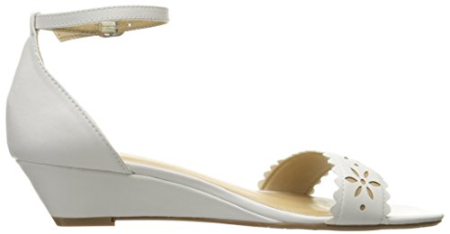 Sandal Chinese Laundry by Calf Mila Wedge Women's CL White zx0wOnn