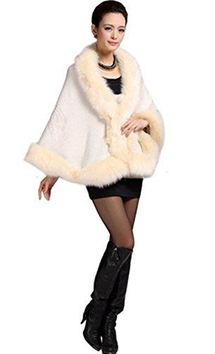 Beige Taille Manteau Femme Unique Cape Plaer gOzFxqHw