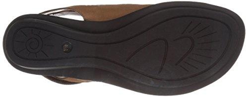 Sesto Meucci Women's Elax Toe Ring Sandal Camel Soft Nabuk IU6eRtM
