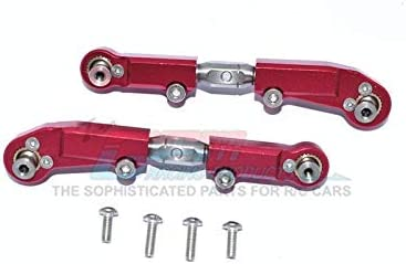 Typhon Infraction Limitless GPM Racing Aluminum Rear Lower Arms Set Red