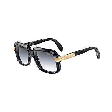 5e7c4d2d414 Cazal 607 3 Sunglasses 607 Legend Black Marble Gold (090) Authentic New