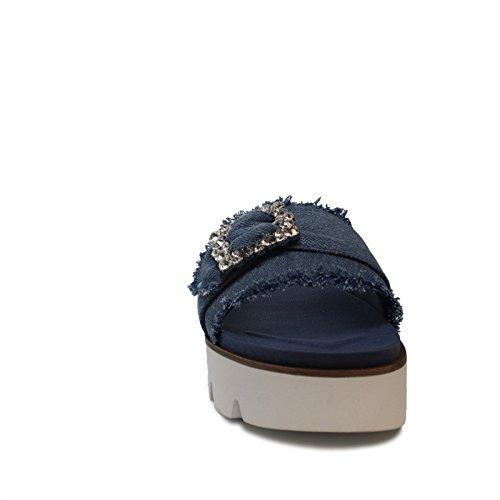 Pantoufle De Femmes Fornarina Pantoufle Bleu Femmes Pe18fe2901 qO6x6awIE