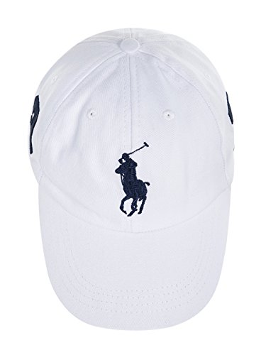 Polo Ralph Lauren Men Big Pony Logo Hat (White)