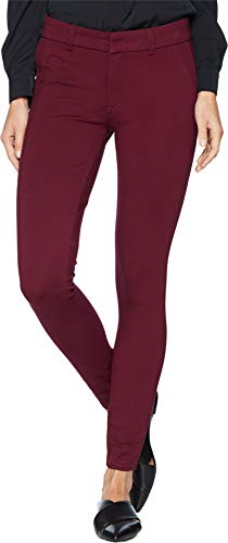 KUT from the Kloth Women's Mia Ankle Skinny Jeans with Front Faux Pockets in Wine Wine 2 27 27