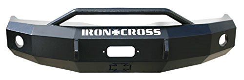 Iron Cross Automotive 22-625-03 Heavy Duty Front Bumper With Push Bar For Dodge Ram
