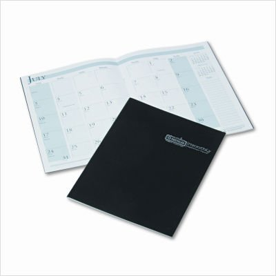 House of Doolittle 14-Month Planner for 2009, Ruled, 8.5 x 11 Inches, Black (260-02) (Refill Book Of Doolittle House Appointment)