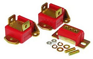 Prothane 7-1902 Red Motor and Transmission Mount Kit by Prothane