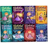 Holly Webb Maisie Hitchins Series Collection 8 Books Set (The Case of the Stolen Sixpence, Feathered Mask, Secret Tunnel, Blind Beetle, Weeping Mermaid, Phantom Cat, Spilled Ink, Vanishing Emerald) (Emerald Stripe)