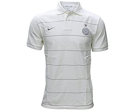 Polo Inter Authentic -Blanco-: Amazon.es: Deportes y aire libre