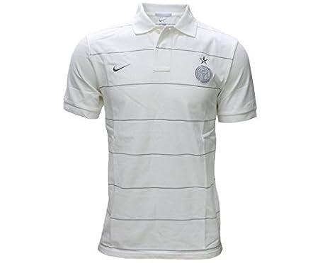Polo Inter Authentic -Blanco-: Amazon.es: Deportes y aire libre